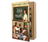 Bohemia Gifts Učitelé sprchový gel 200 ml + šampon na vlasy 200 ml, kniha kosmetická sada