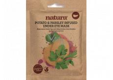 Beauty Pro Natura Omlazující maska pod oči s extraktem z brambor a petržele 3 x 3 g