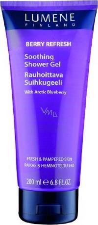 Lumene Berry Refresh Soothing Shower Gel Pečující sprchový gel 200 ml