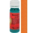Artemiss Barva na textil 64 metalická oranžová 12 g