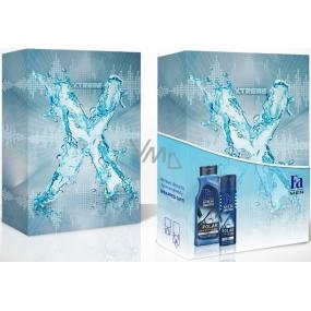 Fa Men Xtreme Polar sprchový gel 400 ml + deodorant sprej pro muže 150 ml, kosmetická sada