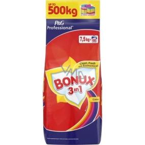 Bonux Color 3v1 prací prášek na barevné prádlo 100 dávek 7,5 kg