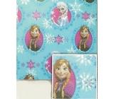 Nekupto Vánoční balicí papír Ledové království modrý 2 x 0,7 m BLI 005
