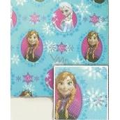 Nekupto Vánoční balicí papír Ledové království modrý 2 x 0,7 m