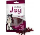 Calibra Dog Joy Duck Stripes doplňkové krmivo pro psy z kachního masa 80 g