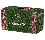 Grešík Zelený čaj s echinaceou s antioxidačními účinky 20 x 1,5 g