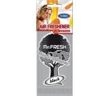Mister Fresh Car Parfume Black osvěžovač vzduchu závěsný 1 kus