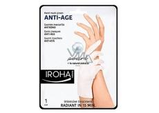 Iroha Anti-Age maska na ruce a nehty proti stárnutí s perlou a přírodními výtažky 2 x 9 ml