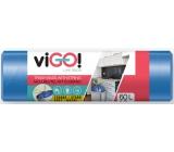 viGO! Sáčky do odpadkového koše zatahovacího, 13 µ, 60 litrů 60 x 70 cm 13µ 10 kusů
