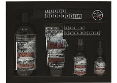 Basic Essentiel multi olej na pokožku a vousy 30 ml + pleťový krém 75 ml + gel na holení 150 ml + 4v1 sprchový gel 500 ml + 100% bavlněný pytlík, kosmetická sada pro muže