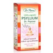 Dr. Popov Psyllium 100% originální, podporuje správný metabolismus tuků a navozuje pocit sytosti, rozpustná vláknina 50 g