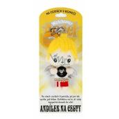 Albi Andělíček strážníček - Andílek na cesty přívěsek 8,5 cm