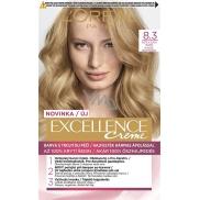Loreal Paris Excellence Creme barva na vlasy 8.3 Světle zlatá blond