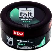 Taft Looks Molding Clay tvarovací pasta pro zvýraznění textury vlasů, polomatné zakončení 75 ml