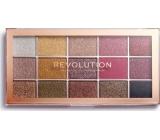 Makeup Revolution Foil Frenzy paletka očních stínů Creation 15 x 1,1 g