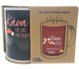 Albi Měnící hrnek Káva-víno 310 ml