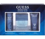 Guess Seductive Homme Blue toaletní voda pro muže 100 ml + sprchový gel 200 ml + deodorant sprej 226 ml, dárková sada