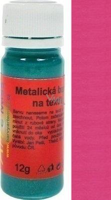 Artemiss Barva na textil 55 metalická vínová 12 g