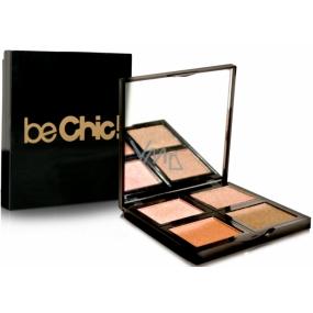 Be Chic! Summer Look Eye Shadow Palette paleta 4 očních stínů