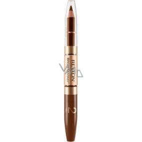 Revlon Brow Fantasy tužka a gel na obočí 2v1 105 Brunette 0,31 g + 1,18 ml