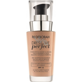 Deborah Milano Dress Me Perfect Foundation SPF15 make-up 01 Fair 30 ml
