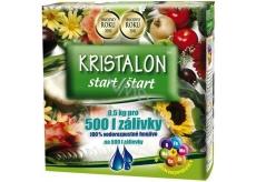 Agro Kristalon Start vodorozpustné univerzální hnojivo 0,5 kg pro 500 l zálivky