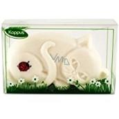 Kappus Kočička toaletní mýdlo v atraktivní, průhledné krabičce 100 g