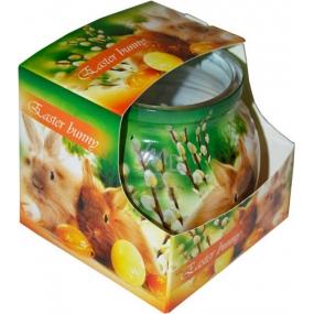 Admit Easter Bunny dekorativní aromatická svíčka ve skle 80 g