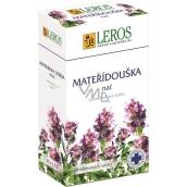 Leros Mateřídouška nať bylinný čaj 20 x 1,5 g