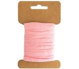 Lýko papírové růžová šířka 2 cm, 10 m