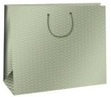 Ditipo Dárková papírová taška Trendy colours olivová 38,3 x 10 x 29,2 cm QAA