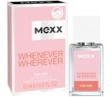 Mexx Whenever Wherever for Her toaletní voda pro ženy 15 ml