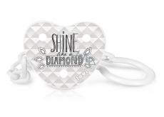 Lovi Diamond Řetízek na šidítko s klipem