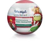 Tetesept Medvídek Teddy koule do koupele pro děti, s vánočnívůní 140 g