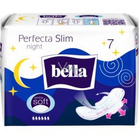Bella Perfecta Slim Night Extra Soft ultratenké hygienické vložky s křidélky 7 kusů