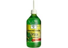 Bione Cosmetics Bříza vyživující vlasová masážní voda zvyšuje lesk vlasů 220 ml