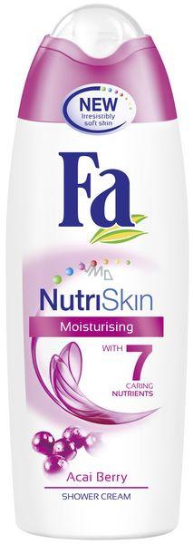 Fa NutriSkin Moisturising Acai Berry sprchový gel 250 ml