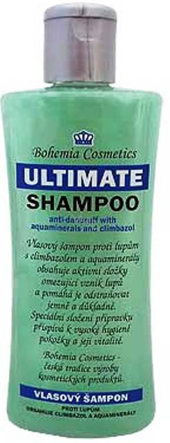 Bohemia Ultimate šampon proti lupům s aquaminerály 250 ml