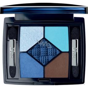 Dior 5 Couleurs Transat Edition paletka 5ti očních stínů 344 Atlantique 6 g