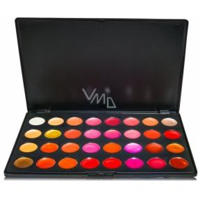 Be Chic! Lovely Lips Palette paleta 24 lesků na rty