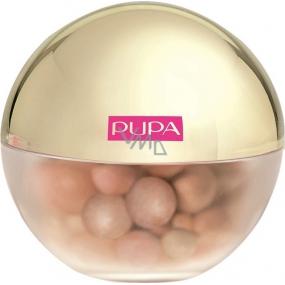 Pupa Dot Shock Highlighter rozjasňovač ve vícebarevných perleťových kuličkách 001 Dot Sunshine 22 g