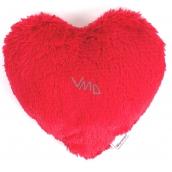 Albi Hřejivé srdce červené 21 x 20 cm