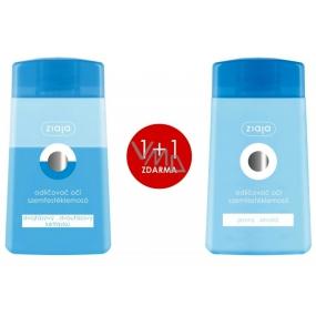 Ziaja dvoufázový odličovač očí 120 ml + Hydratační jemný odličovač očí 120 ml, duopack