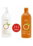 Ziaja Pomerančové máslo hydratační tělové mléko 400 ml + Sprchový gel 500 ml, duopack