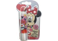 Disney Minnie Mouse 3D balzám na rty s příchutí třešně 4,8 g