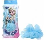 Disney Frozen sprchový gel s mycí žínkou pro děti 450 ml