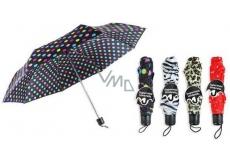 RSW Deštník mini barevný se vzorem 1 kus