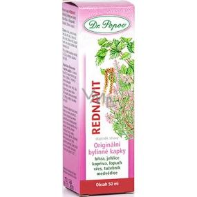 Dr. Popov Rednavit Dobrý stav kloubů a chrupavek bylinné kapky 50 ml