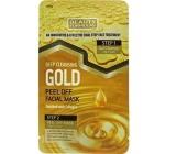 Beauty Formulas Gold Detox slupovací dvoukroková pleťová maska 13 g