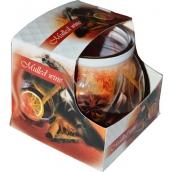 Admit Mulled Wine - Svařené víno dekorativní aromatická svíčka ve skle 80 g